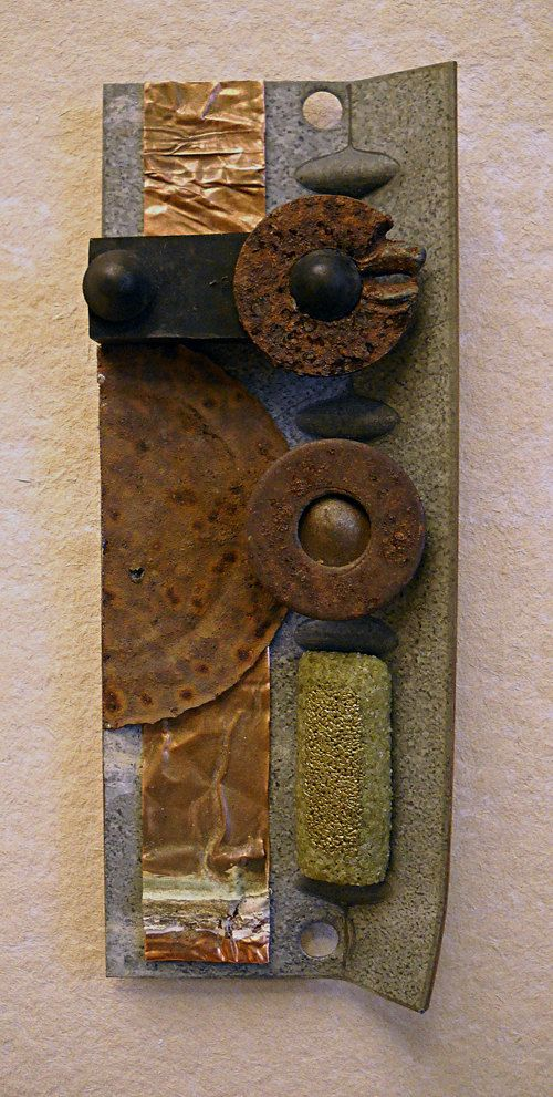 Earthly Delight found object assemblage by tristanfrancis, etsy