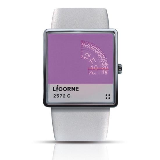 Licorne Pantone Watch (Purple)