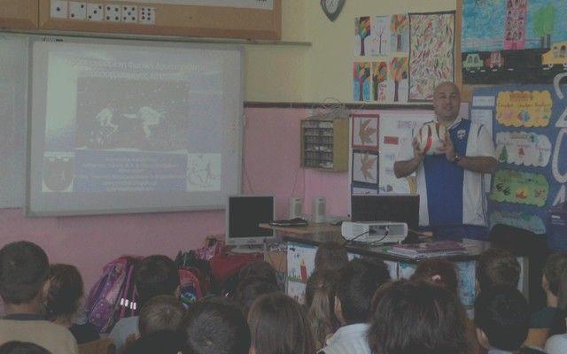 Η Πανελλήνια Ημέρα Σχολικού Αθλητισμού στο Δημοτικό Σχολείο Σταυρού