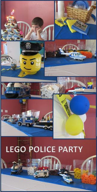 Lego Police Party