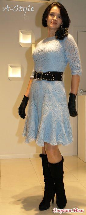 Платья - моя коллекция 2014 - Вязание - Страна Мам