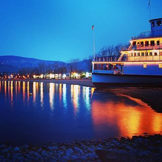 SS Sicamous Stern Wheeler, on the beach in Penticton. The ship is a must see tourist attraction if you are visiting the Okanagan.