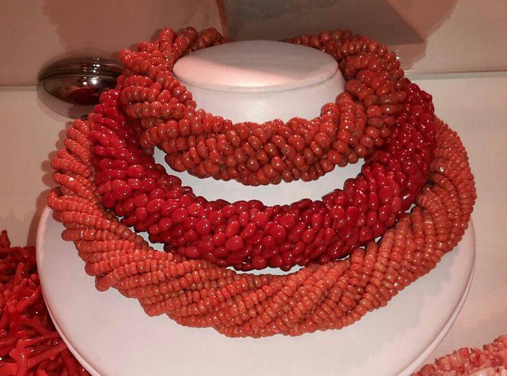 Collane corallo