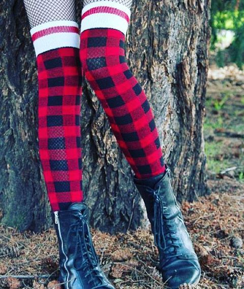 It's Cyber Monday! That means you still have today to take advantage of our 10&10 Deal! Get 10% off your order PLUS get a $10 Gift card for your next order! Use promo code BLKFriday10 at checkout. Go stock up on our newest product-these thigh high super cozy plaid socks! #iloveorangefish #blackfriday #deals #christmas #holidays #socks #cozy #boots