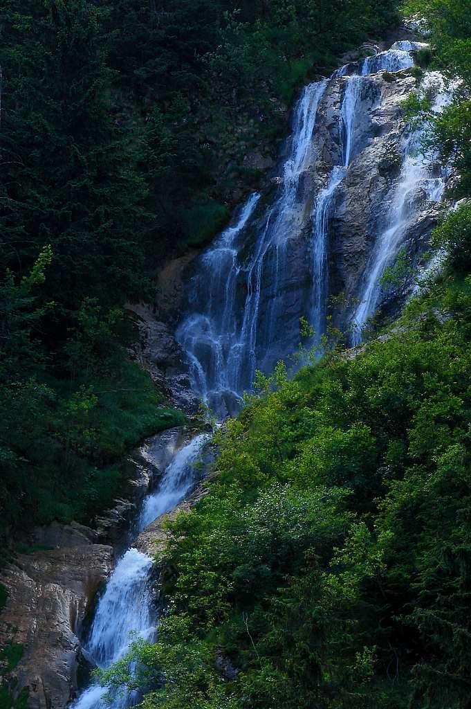 Cascada Cailor, Borsa, Romania