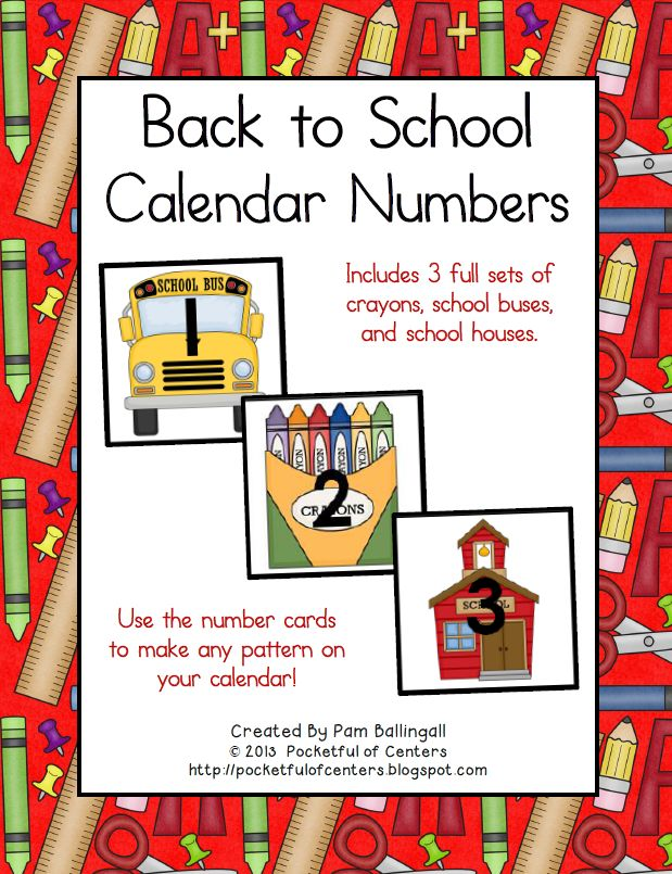 June Calendar Numbers For Preschool : Best school calendar ideas on pinterest preschool