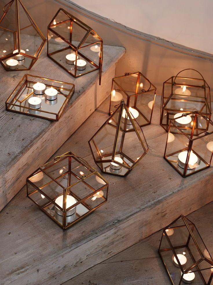 Autumn Interior Decor tips for Fall decor, interior decor ideas to steal! :) Lights interior, glass candles
