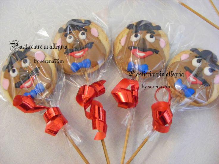 pasticciare in allegria: Torta Toy Story + biscotti decorati Toy Story