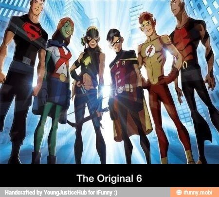 Young Justice, the original team [the original is the best]