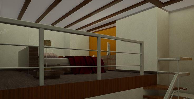 Habitación en altillo