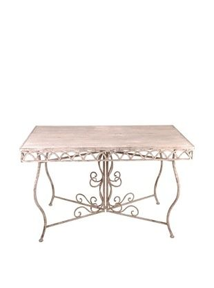 44% OFF Esschert Design USA Large Aged Metal Rectangular Table