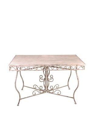 44% OFF Esschert Design USA Large Aged Metal Rectangular Table