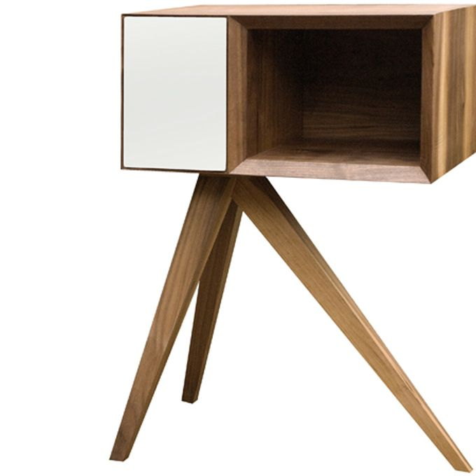 Invisible Cityu0027s Premier Collection Of Handmade Furniture, Incunabular,  Begins With This Interesting Tripodal Side Table That Designer Simon  Moorhouse ...