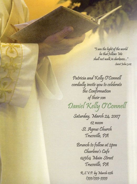this first communion or confirmation invitation can be used for a