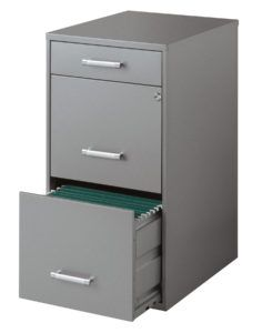 Hirsh 3 Drawer File Cabinet