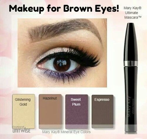 Brown eyes 👀 💁🏼Contact me in Connecticut for a FREE individual consultation, facial, makeover or get a group of friends together for a free party! No obligations to buy.  I ship within the US. Www.marykay.com/acorvino 💋Amy