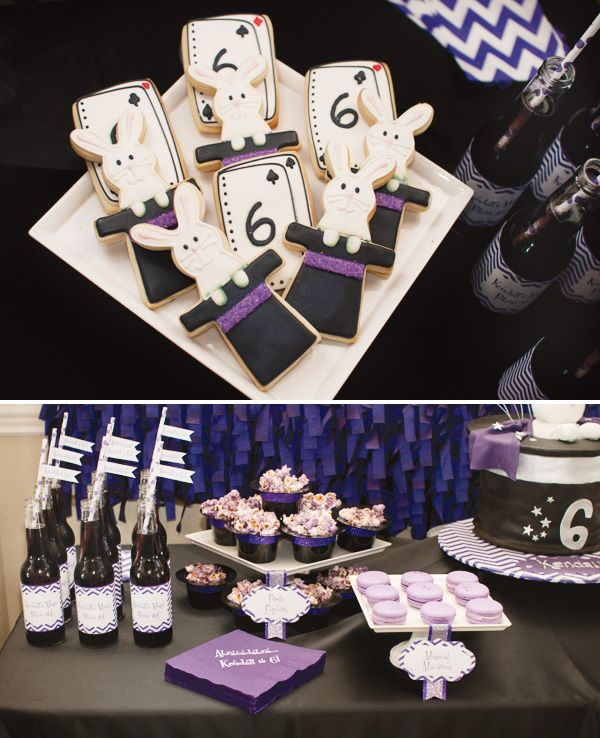 Modern Magic Birthday Party // Hostess with the Mostess®