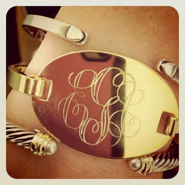 obsessed: David Yurman, Arm Candy, Style, Gold Bracelets, Fashion Accessories, Jewelry, Girls Fashion, Monograms Bracelets, White Gold