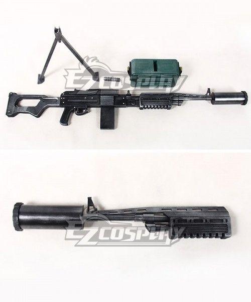 Girls Frontline Aek 999 Barsook Badger Gun Cosplay Weapon Prop