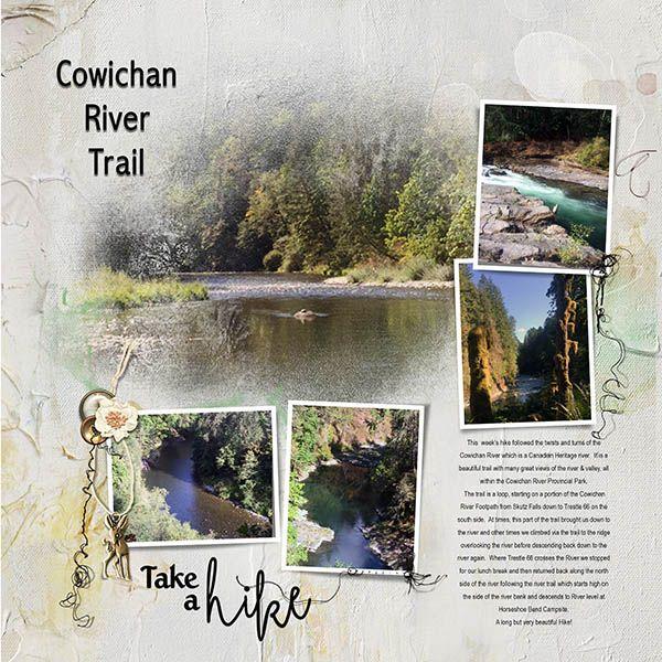 Cowichan River Trail Hike