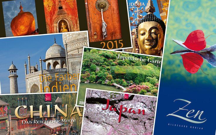 Die besten Asien-Kalender 2015: China, Japan, Indien, Buddhismus, Zen, Anime, Kunst