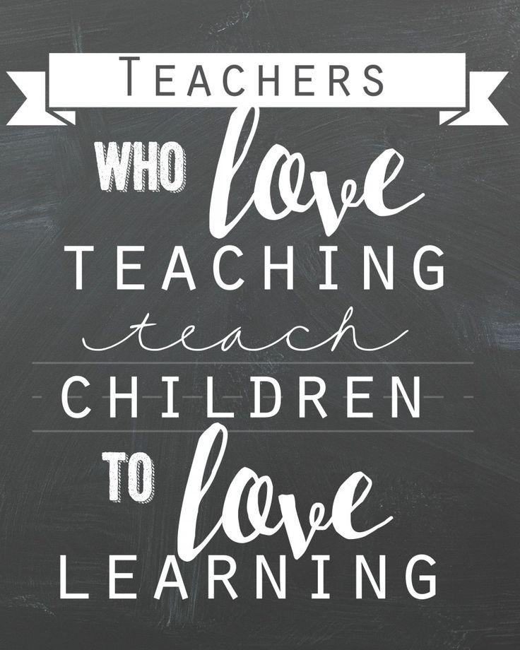 Student Thanking Teacher Quotes: Teacher Quote Free Printable