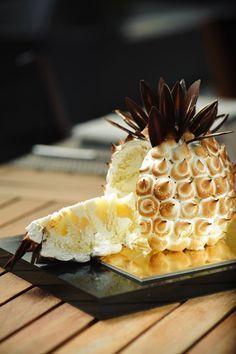 Gâteau coco-ananas meringué - Toque de choc!