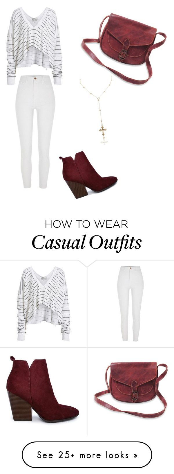 """Casual No1"" by andromeda-12 on Polyvore featuring Wildfox and River Island"