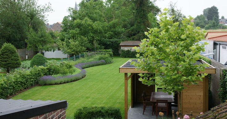 Ontwerp tuin strakke tuinen stadstuinen moderne tuinen - Openlucht tuin idee ...