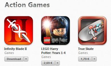 Action Games – Apple iti recomanda cele mai populare jocuri de actiune din App Store