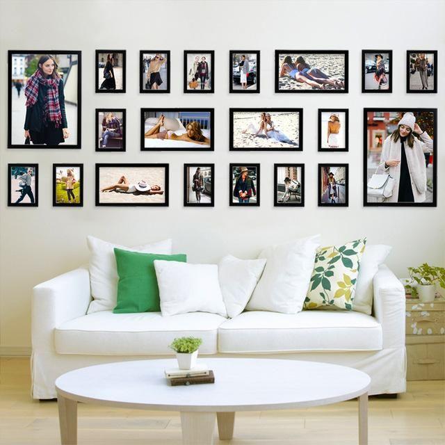 Plain To Slain Wall Design Ideas Picture Arrangements