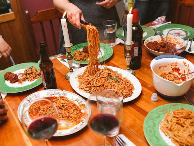Weekly spaghetti dinners with a rotating cast of friends and family started as an easy solution for working parents who missed having a social life. We had no idea it would tap into something much deeper.