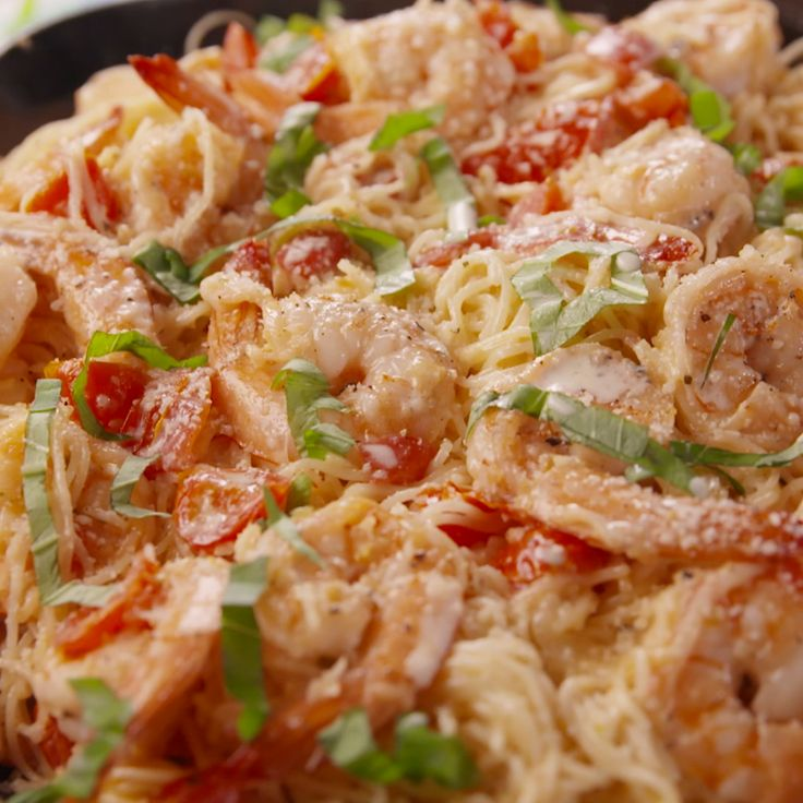 You're going to be making this satisfying shrimp pasta all summer long.