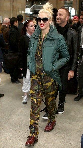 Gwen Stefani Clothes - I love Gwen Stefani's clothing. I'm big into Kahki