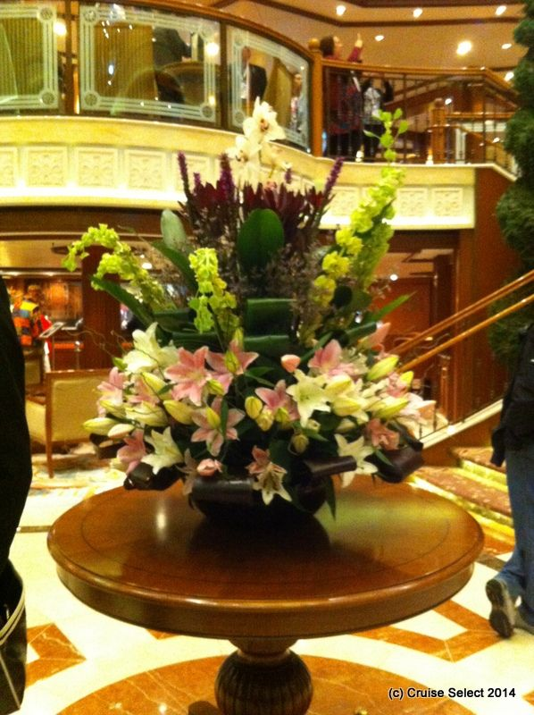 Cunard - Reception - Aboard Queen Victoria