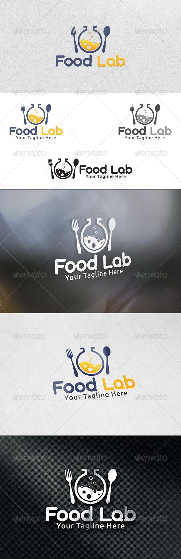Food Lab - Logo Template