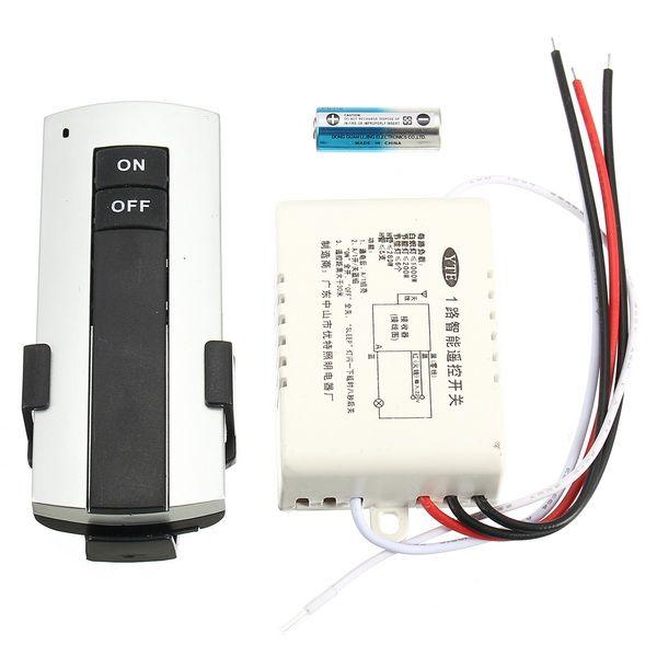 220V sans fil 1 canal lumière commutateur à distance ON / OFF anti-parasite Smart Home Module