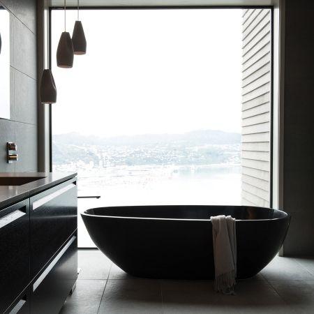 Solar 1660 Stone Freestanding Bath - Baths - Bathroom