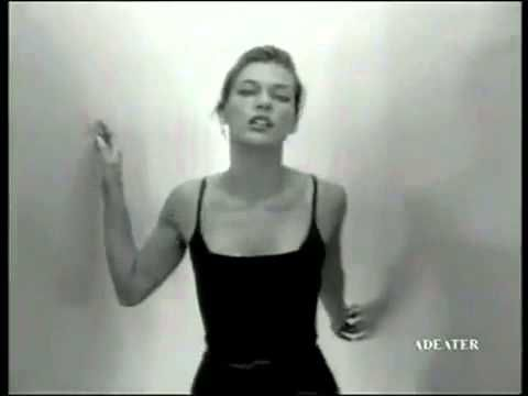 Calvin Klein Escape parfum commercial milla jovovich