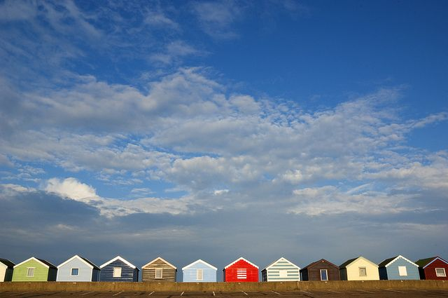 Southwold, England... Beach Huts