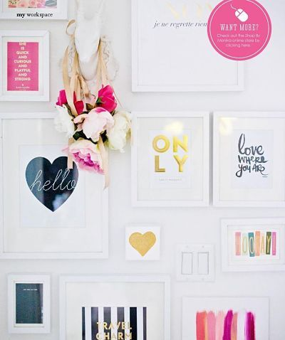 Pink, Gold and Flowers - The Stylist Splash