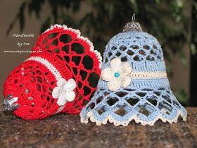 Horgolt harang leírása:       Kép forrása: http://kunstbyiris.blogspot.pl   Sziasztok! Ezt a gyönyörű harang mintát egy lengyel blogon  t...