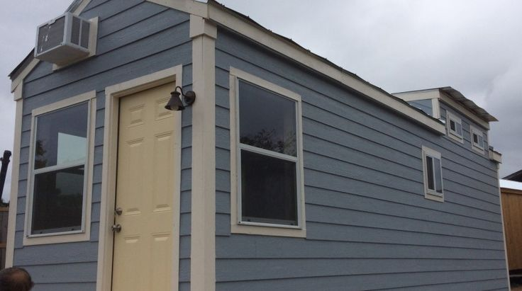 Tiny blue cottage - Tiny House for UsTiny House for Us