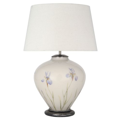 Jenny worrall iris table lamp and shade £299 00 www candleandblue co uk