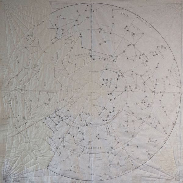 DIY Constellation Quilt - large
