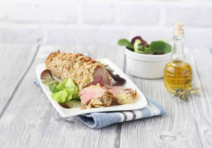 Filetto di tonno in crosta