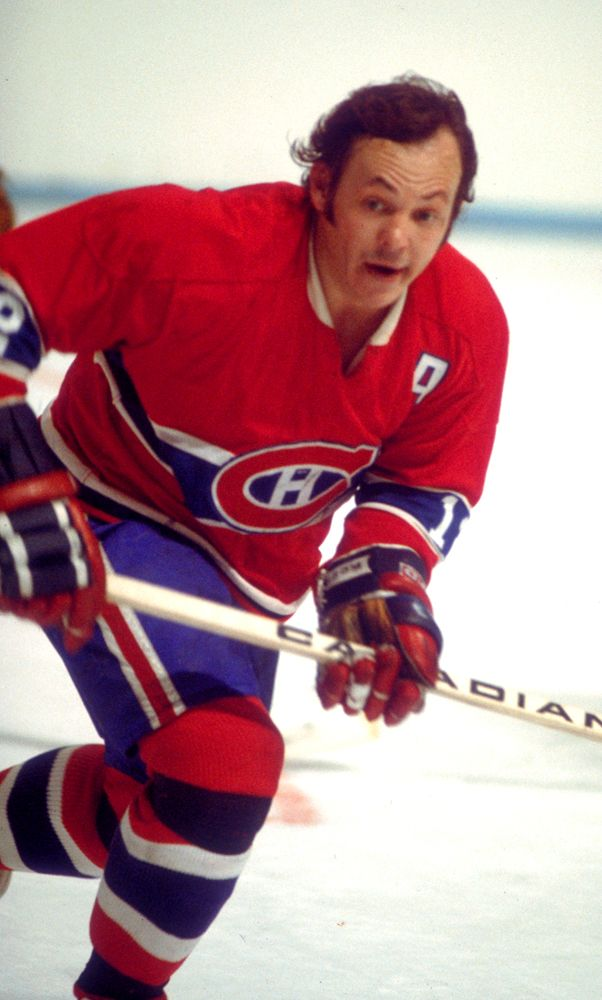 "Yvon Cournoyer ""the roadrunner"".... Montreal Canadiens"