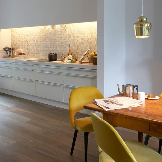 Kitchen Lighting Ideas Uk: Create a practical space to prepare meals by adding lights above your  cooking area. Make,Lighting