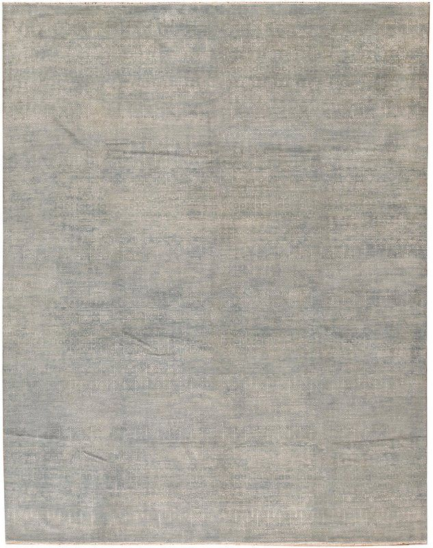 One Of A Kind South Sea Hand Knotted 11 11 X 14 10 Wool Gray
