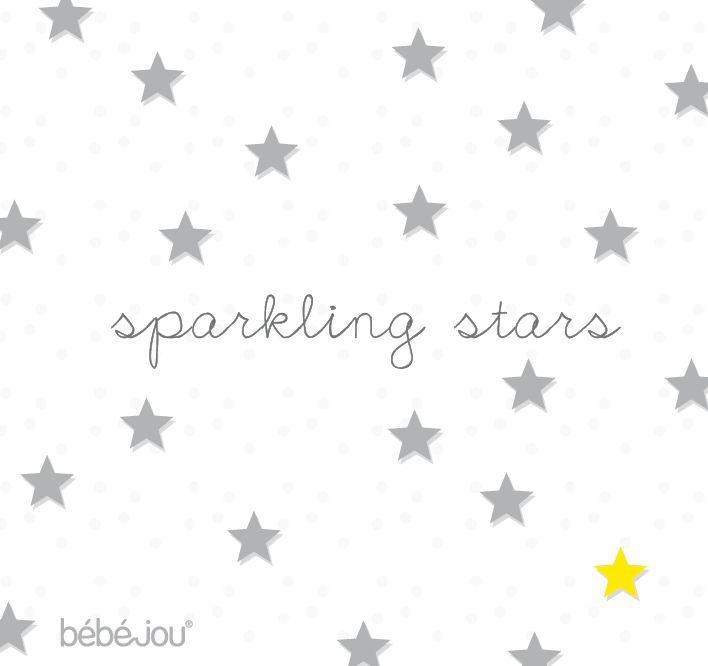 Silver stars, sparkling nursery items!